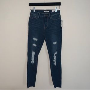PacSun Distressed High Rise Ankle Jeggings